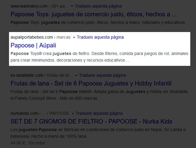 Imatge | SERPs i Snippets, que son?